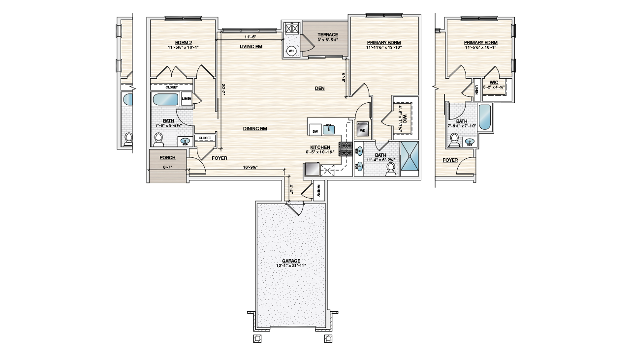 Duplex apartments for rent Warren County, New Jersey - Autumn Ridge At Lopatcong